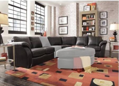 Novo Home 10423PC Venice Series Stationary Leather Sofa