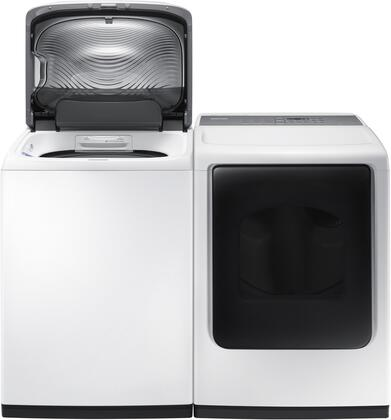 Samsung Appliance SAM2PCTL27WEKIT1 Washer and Dryer Combos