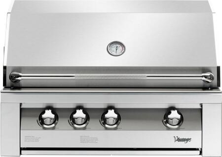 Vintage VBQ36GNG Built In Grill, in Stainless Steel