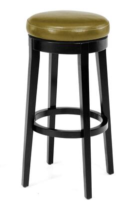 Armen Living LC450BAWA26 Residential Leather Upholstered Bar Stool