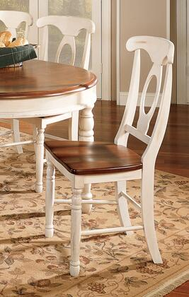 AAmerica BRIMB285K British Isles Series Transitional Wood Solid Hardwood Frame Dining Room Chair