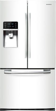 Samsung Appliance RFG297HDWP  French Door Refrigerator with 28.5 cu. ft. Total Capacity 5 Glass Shelves