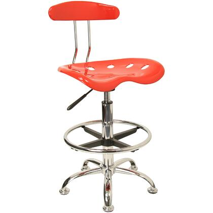 """Flash Furniture LF215REDGG 17.25"""" Adjustable Contemporary Office Chair"""