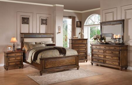 Acme Furniture 24434CK5PC Arielle California King Bedroom Se