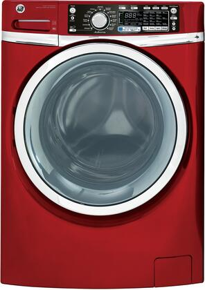 GE GHWS3605FRR  4.8 cu. ft. Front Load Washer, in Red