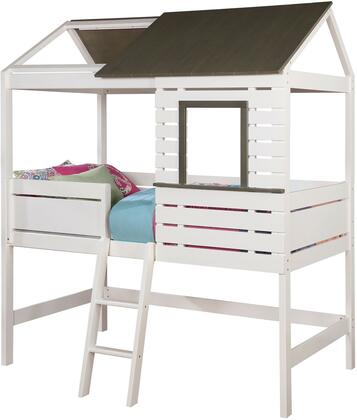 Furniture of America CM7137BED Farem Series  Twin Size Bed