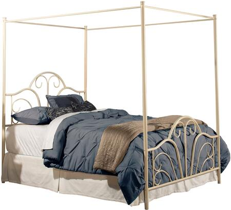 Hillsdale Furniture Dover 1965BX Bed with Scroll Design in Cream Finish