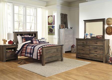 Signature Design by Ashley Trinell Bedroom Set B446TBBDMN