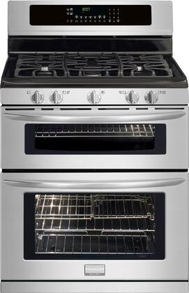 "Frigidaire FGGF304DLF 30"" Gallery Series Gas Freestanding Range with Sealed Burner Cooktop, 3.5 cu. ft. Primary Oven Capacity, Oven in Stainless Steel"