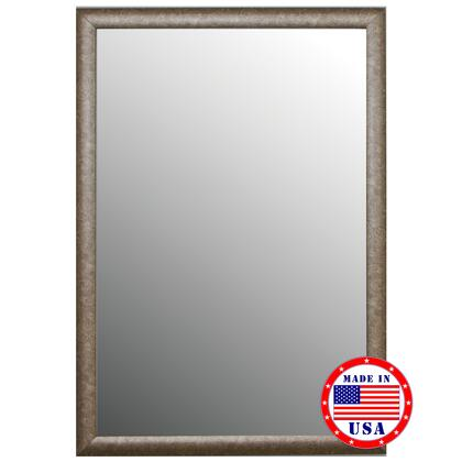Hitchcock Butterfield 80890X 2nd Look Round Top Aged Silver Framed Wall Mirror