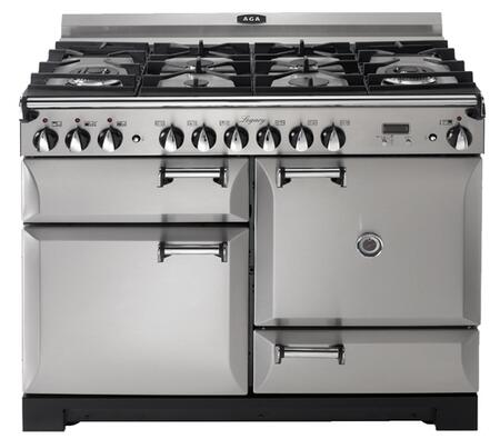 "AGA ALEGS44DFSS 44"" Legacy Series Dual Fuel Freestanding"