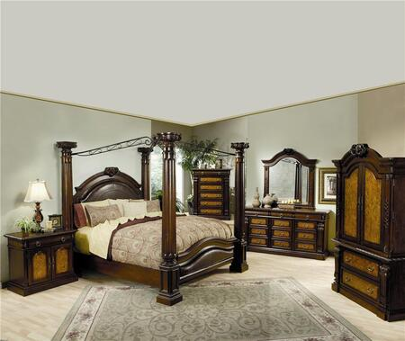 Coaster 201201KESET6 King Bedroom Sets