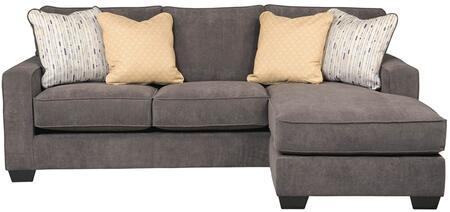 Flash Furniture FSD7979SOFCHMBLGG Hodan Series Sofa and Chaise Microfiber Sofa