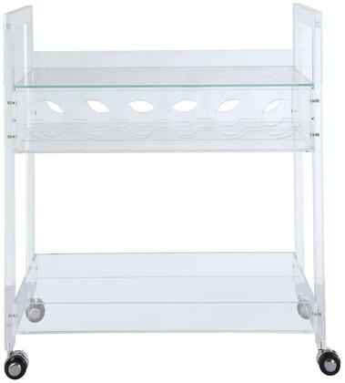 Acme Furniture Foxglove Serving Cart