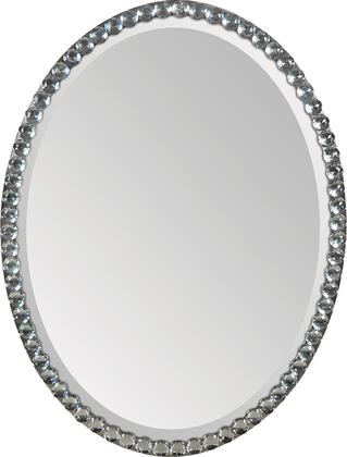 Ren-Wil MT891  Oval Both Wall Mirror