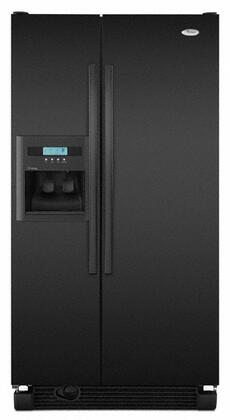 Whirlpool ED2KHAXVB  Side by Side Refrigerator with 21.8 cu. ft. Capacity in Black