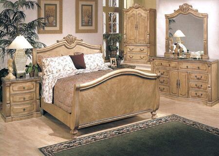 Yuan Tai 5971KTVSET Sedona Series 5 Piece Bedroom Set