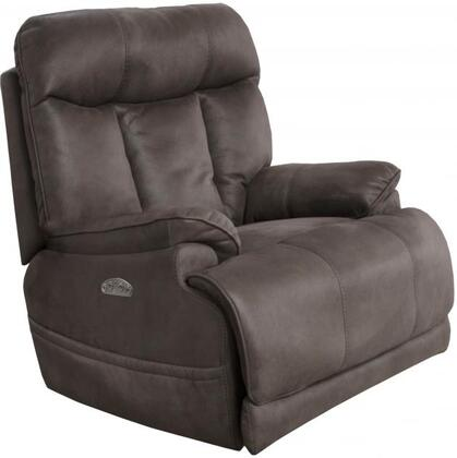 Catnapper 7645627115318125318 Amos Series Suede Metal Frame  Recliners