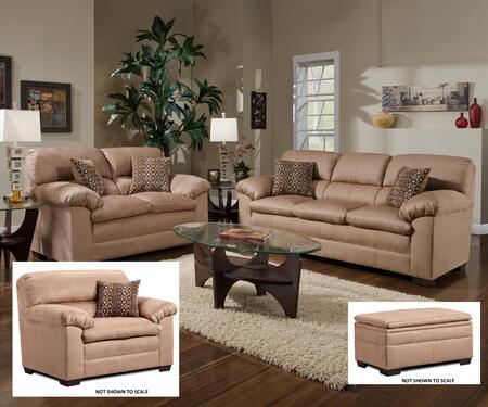 Simmons Upholstery 36850302015095VELOCITYLATTE Velocity Livi