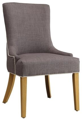 Coaster 104566 Caprice Series Transitional Fabric Wood Frame Dining Room Chair