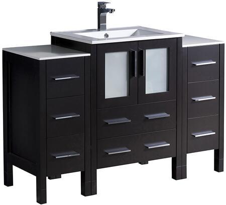 "Fresca FCB62122412XXX Fresca Torino 48"" X Modern Bathroom Cabinets w/ X Sink"