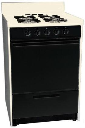 """Summit SNM610CHJ 24"""" Gas Freestanding"""