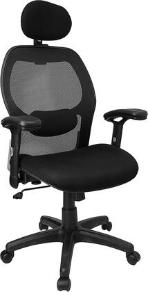"""Flash Furniture LFW42BHRGG 27.25"""" Contemporary Office Chair"""