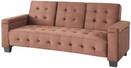Glory Furniture G742S  Chair Sleeper Suede Sofa