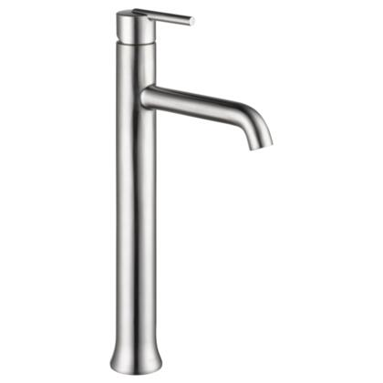 Trinsic  759-SS-DST Delta Trinsic: Single Handle Vessel Lavatory Faucet in Stainless