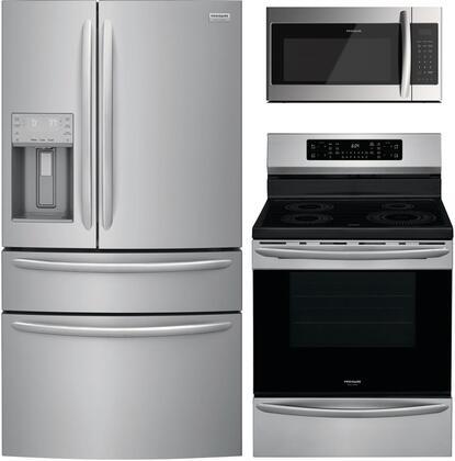 Frigidaire 1010218 3 piece Stainless Steel Kitchen Appliances Package