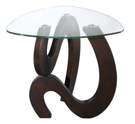 Stein World 668028 Nassau Series Contemporary Triangular End Table