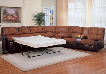 Coaster 500623QWL Contemporary Living Room Set
