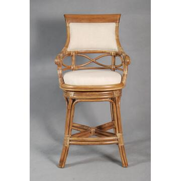 Ambella 31000510001 Ocean Vista Series Residential Fabric Upholstered Bar Stool  Appliances Connection