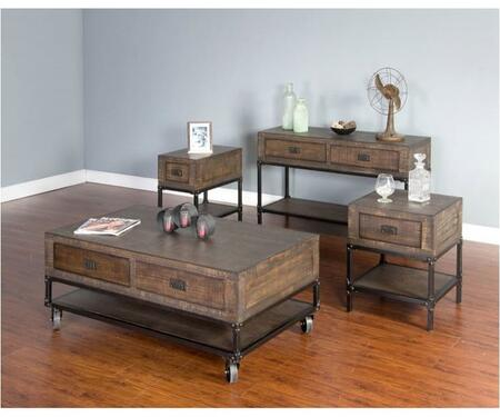 Sunny Designs 3255TLCSKIT1 Living Room Table Sets