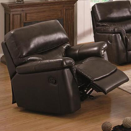 Coaster 602933 Luna Series Casual Leather Wood Frame  Recliners