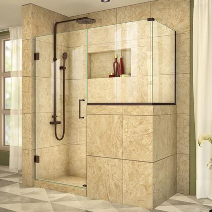 DreamLine UnidoorPlus Shower Door 39 30D 30BP 30RP 06