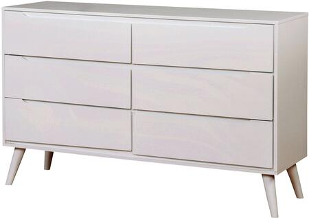 Furniture of America CM7386WHD Lennart II Series  Dresser
