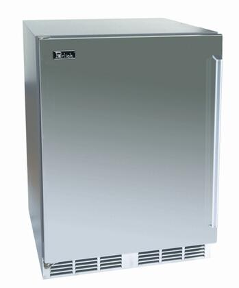 Perlick HP24RS1RDNU Signature Series Compact Refrigerator with 5.3 cu. ft. Capacity in Stainless Steel