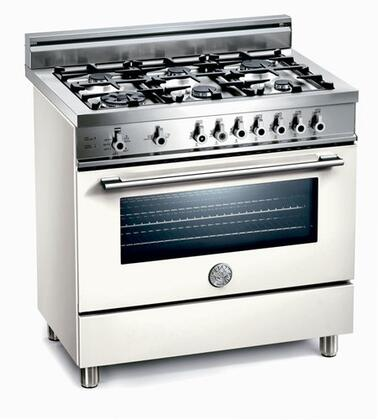 Bertazzoni X366GGVBI Professional Series Gas Freestanding |Appliances Connection