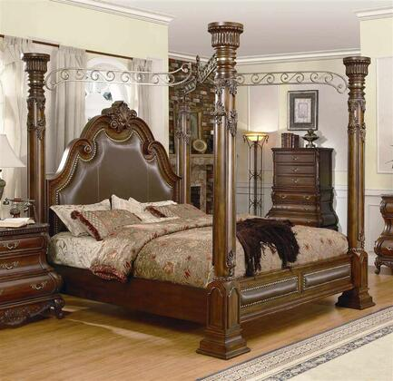 Yuan Tai CA7730Q Calidonian Series  Queen Size Poster Bed