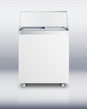 "Summit SCF630PDC 29"" 6.5 cu. ft. Commercial Display Freezer"