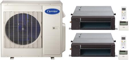 Carrier 700843 Performance Dual-Zone Mini Split Air Conditio