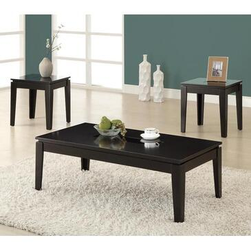 Monarch I7852P Contemporary Living Room Table Set