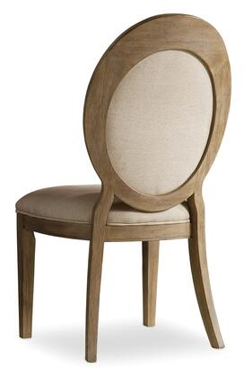 Corsica Oval Back Side Chair Image 1