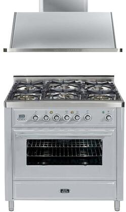 Ilve 721385 Majestic Techno Kitchen Appliance Packages