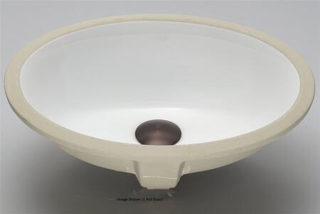 Lenova PU-902 Lenova 14 Undermount Ceramic Bathroom Sink