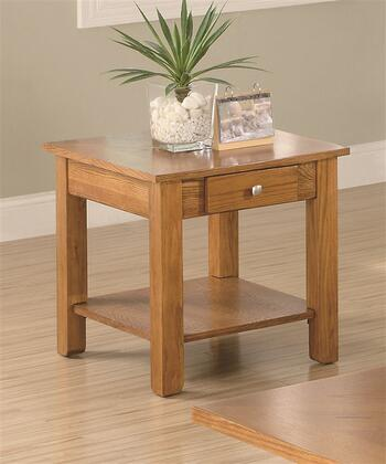 Coaster 701437 Contemporary Wood  End Table
