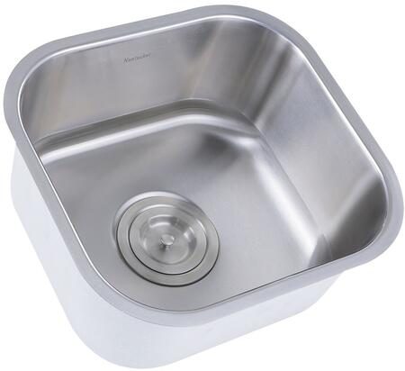 Nantucket NS21 Brushed Satin Bar Sink