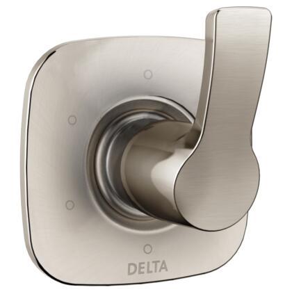 Tesla T11952-SS Delta Tesla: 6-Setting 3-Port Diverter Trim in Stainless