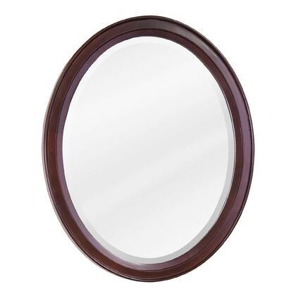 Lyn Design MIR067  Oval Portrait Bathroom Mirror